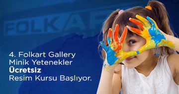 4. Dönem Folkart Gallery Ücretsiz Sanat Kursu