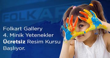 4. Dönem Folkart Gallery Ücretsiz Resim Kursu